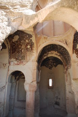 Old christian church in Cappadocia