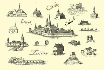 Castle illustration