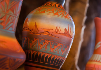 Native American Pottery Vase