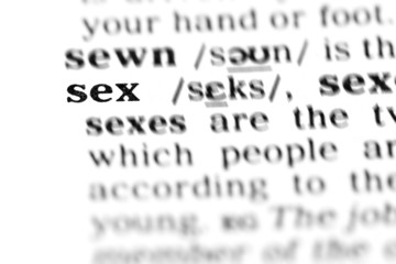 sex (the dictionary project)
