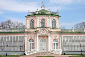 Усадьба Кусково. Дворец с оранжереей.