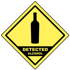 Detected alcohol