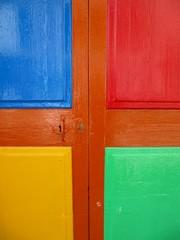 Door colors, puerta de colores.