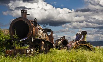 Locomotoras abandonadas