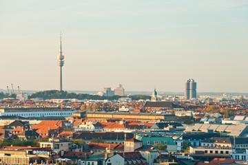 Panoramic view at Munich, Germany