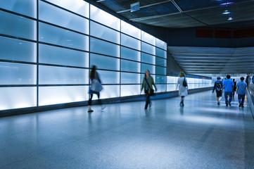 Modern Underground Walkway