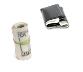 US Money and Wallet