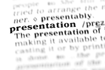 presentation (the dictionary project)