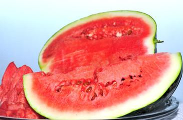 Ripe, Juicy Red Watermelon