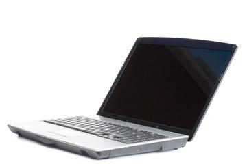 Angled laptop
