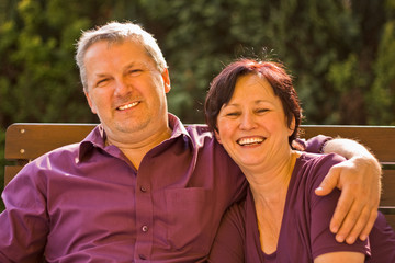 Obraz couple - fototapety do salonu