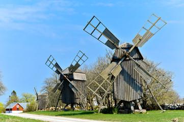 Windmühlen auf Öland, Schweden