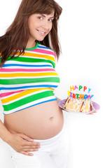 freude über die geburt des babys