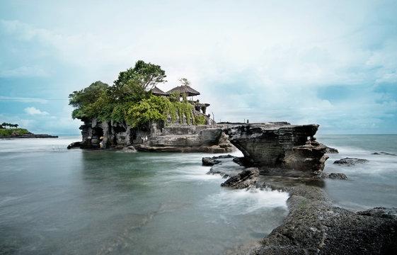 Tanah Lot Temple, Bali - Long exposure