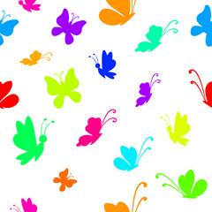 Background, butterflies