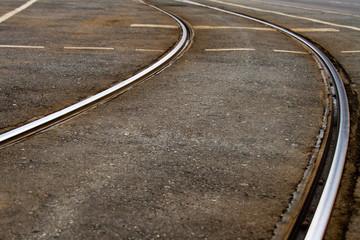 Schienenkurve