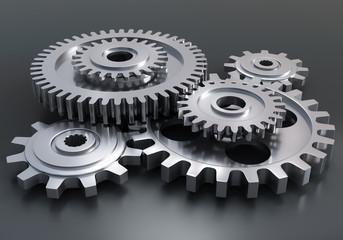 Gear wheels - engine mechanism