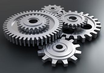 Gear wheels - motor mechanism
