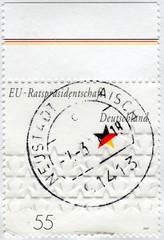 Postage stamp Germany 2007: EU presidency