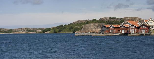 panorama von den küsten schwedens
