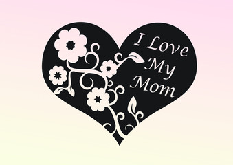 Muttertag Herz