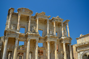 La bibliothèque de Celsus à Ephèse