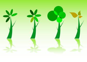 tree green illustration