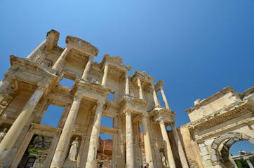 Bibliothèque de Celcus dans Ephèse