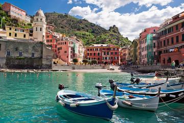 Spoed Foto op Canvas Liguria Vernazza, Cinque Terre, Italy