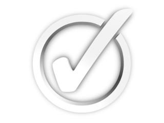 3D Haken | Checkmark Rendering
