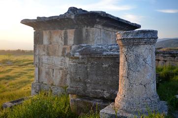 Les ruines de Hiérapolis à Pamukalé