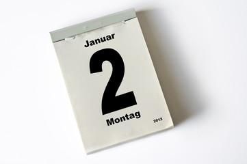 2. Januar 2012