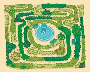 parco labirinto