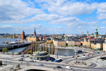 View of Stockholm from Sodermalm