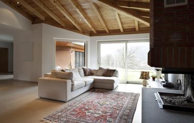 modern livingroom, nobody inside