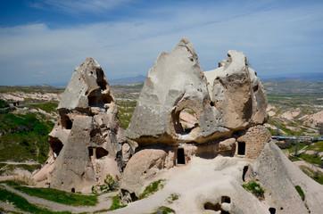Les maisons de la Cappadoce