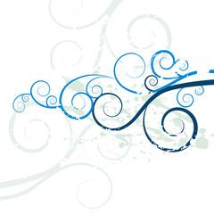 Grunge Swirl Background Texture