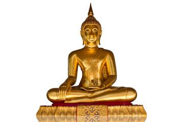 Buddha on the white background