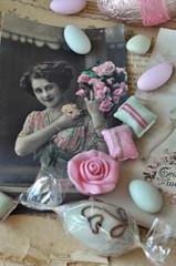Wall Mural - Nostalgische Süßigkeiten