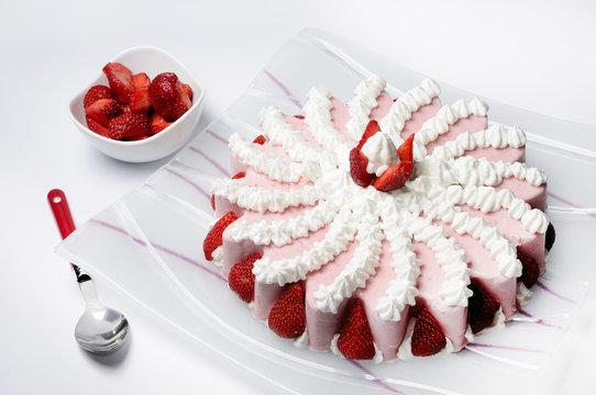 Bavarese dessert