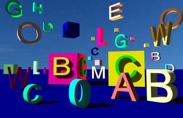 Cubi e alfabeto in libertà 02