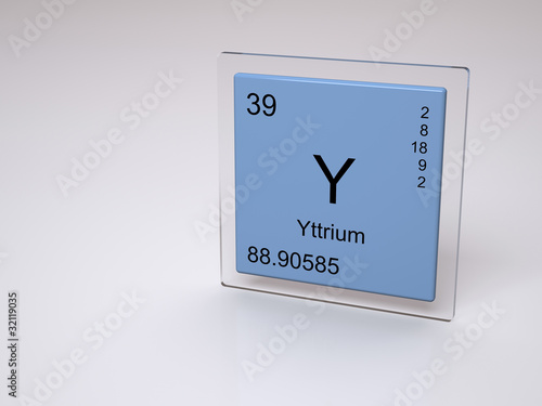Yttrium symbol y chemical element of the periodic table stock yttrium symbol y chemical element of the periodic table urtaz Image collections