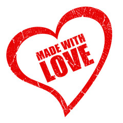 Made with love symbol