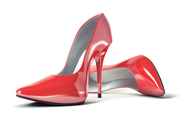 female evening shoes