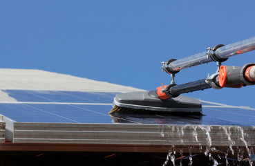 Solar-Reinigung, Solarstrom
