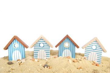 Row beach houses for vacation