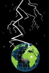 Tormenta sobre el planeta