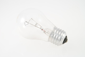 Tungsten Light Bulb (Closeup)