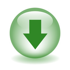 DOWNLOAD Web Button (upload downloads internet click here green)