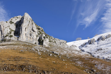 Pastos en el valle del Miera